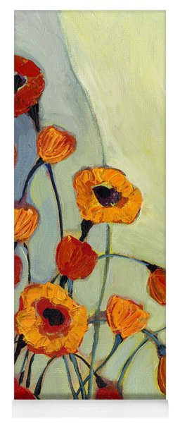 Poppies Yoga Mat