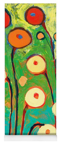 Poppy Celebration Yoga Mat