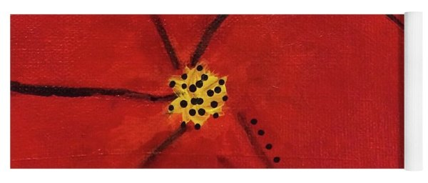 Poppy Dots Yoga Mat