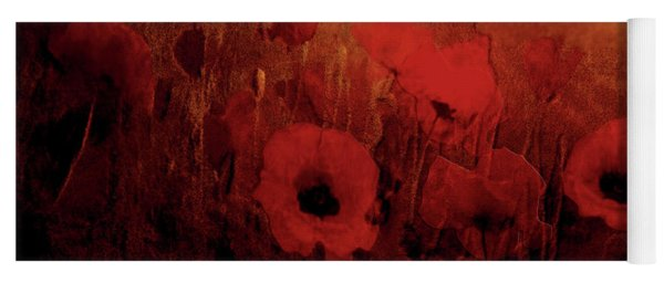 Poppy Heaven Yoga Mat
