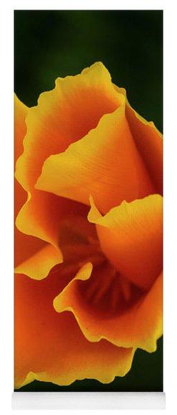 Poppy Orange Yoga Mat