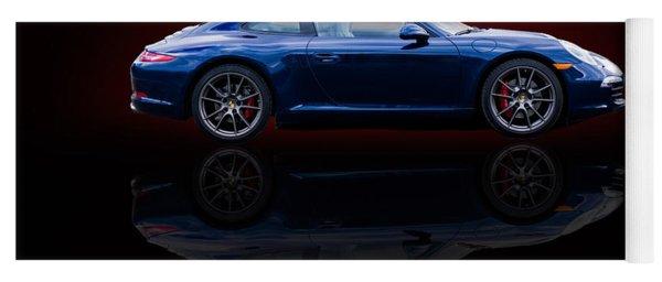 Porsche 911 Carrera - Blue Yoga Mat