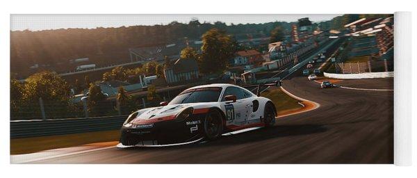 Porsche 911 Rsr, Spa-francorchamps - 33 Yoga Mat