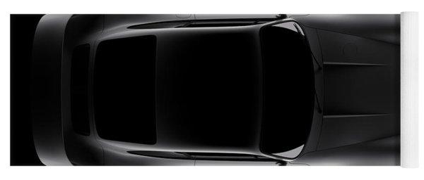 Porsche 959 - Top View Yoga Mat