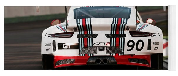Porsche Gt3, Martini Racing, Monza - 03 Yoga Mat
