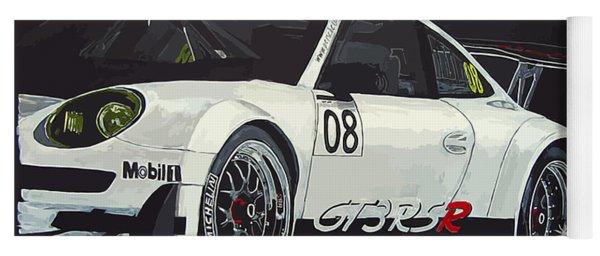 Porsche Gt3 Rsr Yoga Mat