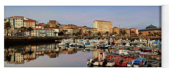 Port Of Ferrol Galicia Spain Yoga Mat