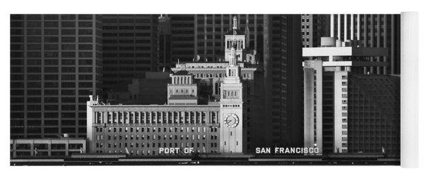 Port Of San Francisco Yoga Mat