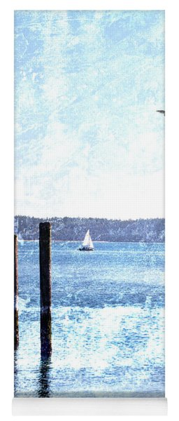 Port Townsend Pilings Yoga Mat