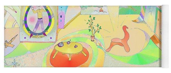 Portals And Perspectives Yoga Mat