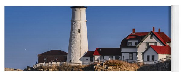 Portland Head Light No. 43 Yoga Mat