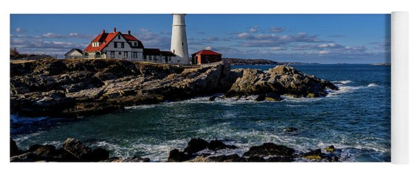 Portland Head Light No.32 Yoga Mat