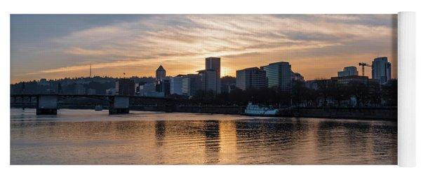 Portland Sunset Yoga Mat