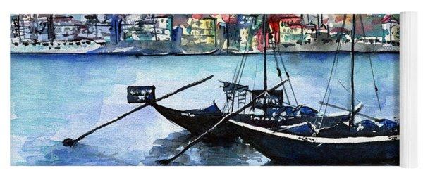 Porto Rabelo Boats Yoga Mat