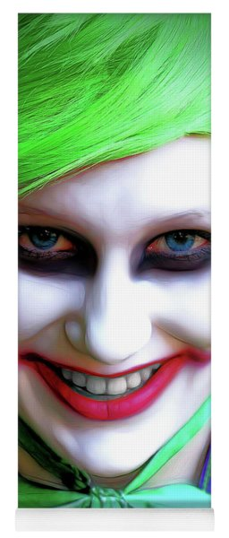 Portrait Of A Joker Yoga Mat