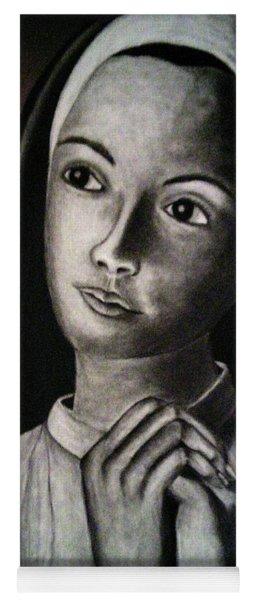 Portrait Of A Nun Yoga Mat