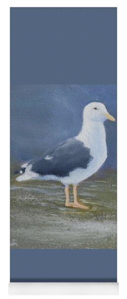 Portrait Of A Seagull Yoga Mat