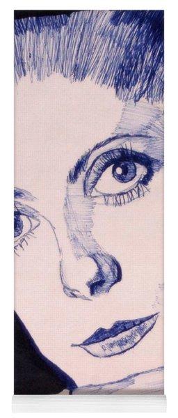 Portrait Of Catherine Yoga Mat