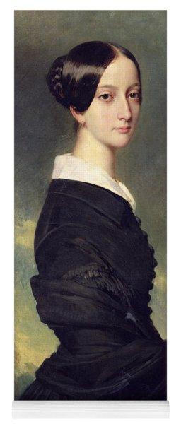 Portrait Of Francisca Caroline De Braganca Yoga Mat