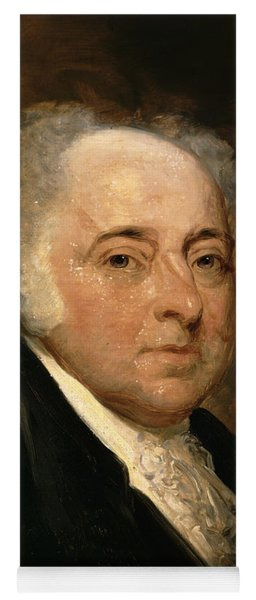 Portrait Of John Adams Yoga Mat
