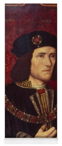 Portrait Of King Richard IIi Yoga Mat