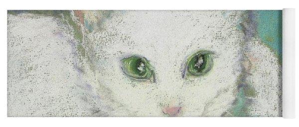 Portrait Of Misty Yoga Mat