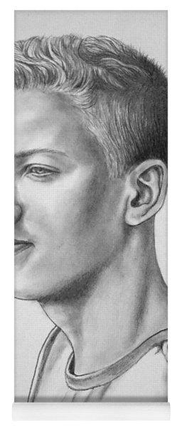 Portrait Of Noel Yoga Mat