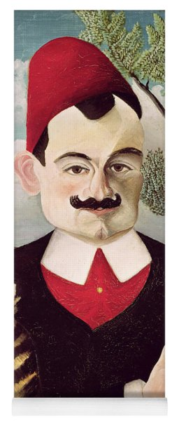 Portrait Of Pierre Loti Yoga Mat