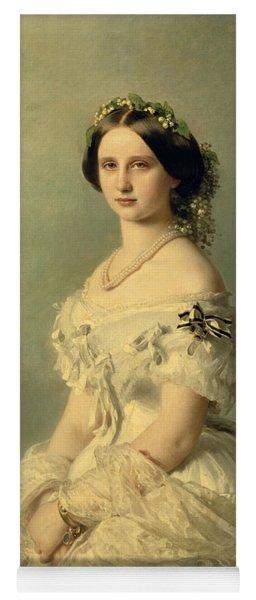 Portrait Of Princess Of Baden Yoga Mat