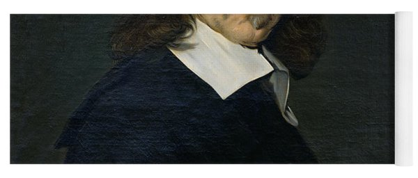 Portrait Of Rene Descartes Yoga Mat