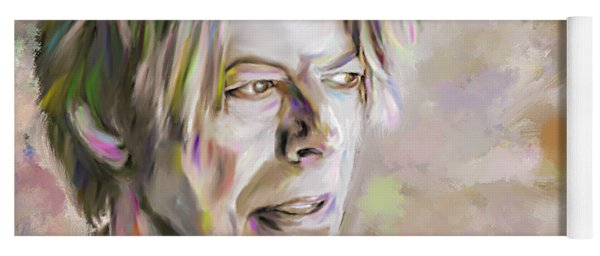 Portrait Of Bowie Yoga Mat