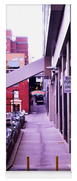 Post Alley, Seattle Yoga Mat
