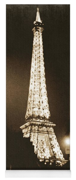 Postcard From Paris- Art By Linda Woods Yoga Mat