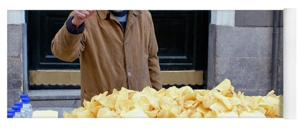 Potato Chip Man Yoga Mat