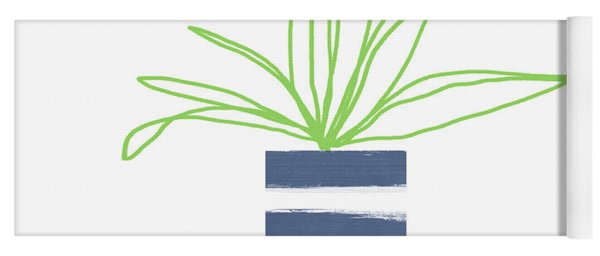 Potted Plant 2- Art By Linda Woods Yoga Mat