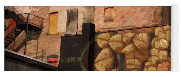 Poughkeepsie Street Art Yoga Mat