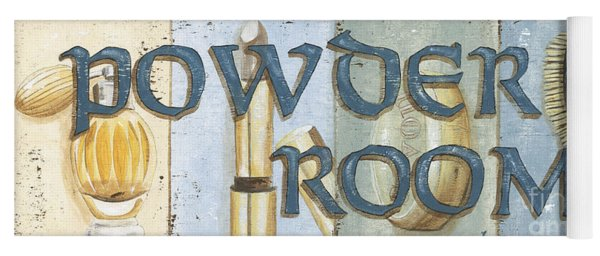 Powder Room Yoga Mat