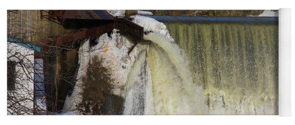 Power Station Falls On Black River One Yoga Mat