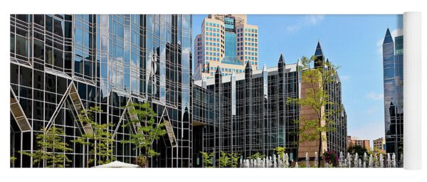 Plaza At Ppg Place Yoga Mat