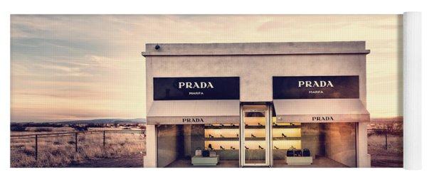 Prada Store Yoga Mat
