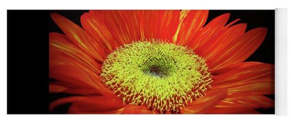 Prado Red Sunflower Yoga Mat