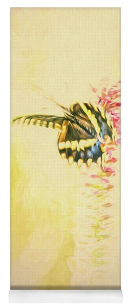 Prairie Butterfly 3 Yoga Mat