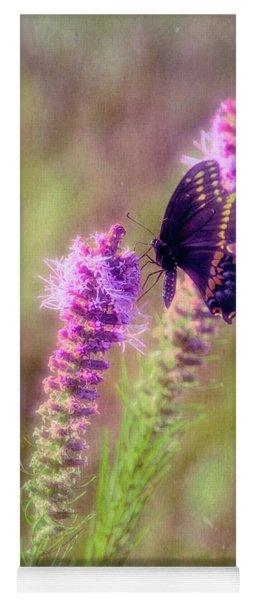 Prairie Butterfly Yoga Mat