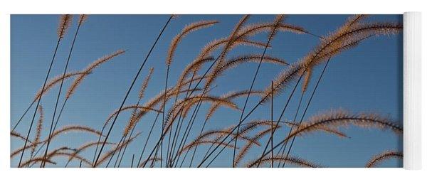 Prairie Grass Landscape Yoga Mat