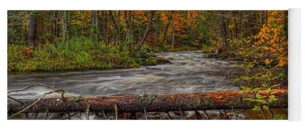 Prairie River Tree Crossing Yoga Mat
