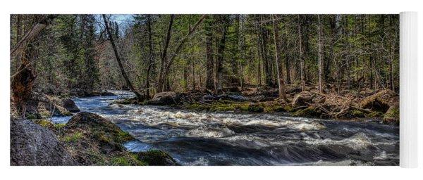 Prairie River White Riffles Yoga Mat