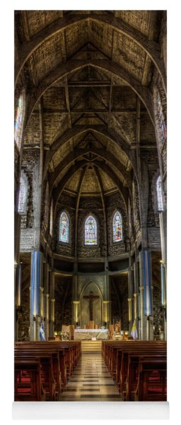 Cathedral In The Argentine Patagonia Yoga Mat