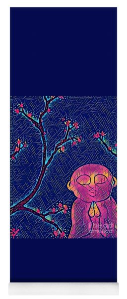 Praying Buddha Yoga Mat