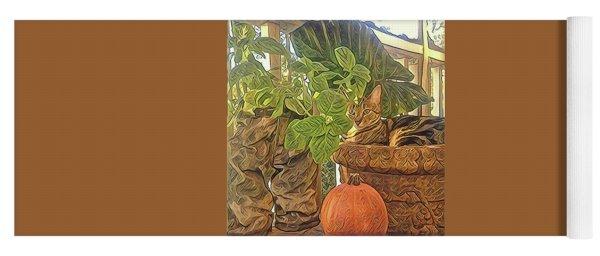 Precious Pumpkin Yoga Mat