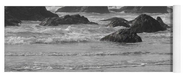 Prehistoric Shore Yoga Mat